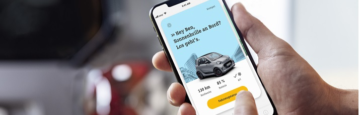 smart EQ Ready to Share - Citycar Sur Mercedes-Benz